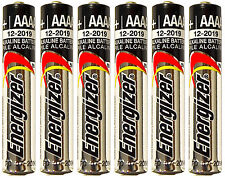 *FRESH* 6x Energizer AAAA Alkaline Batteries E96 Exp.12/2021 [USA SELLER]