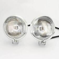 Custom Chrome Motorcycle Headlight Head Light For Harley Davidson Yamaha Honda