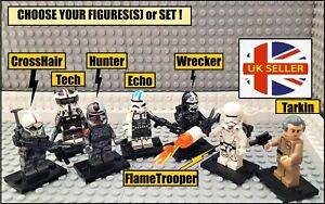 Bad Batch Star Wars Clone Force 99 CHOOSE YOUR FIGURE(S) or SET! Mini Figures