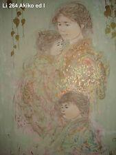 Akiko  and Child  by Edna Hibel