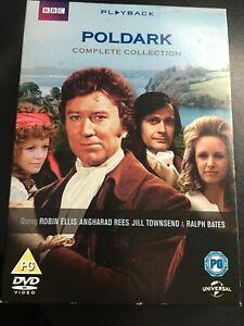 Poldark Complete Collection DVD BBC  Series 1 & 2, 8-Disc Collection Ralph Bates