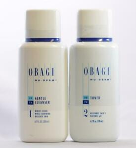 Obagi Gentle Cleanser & Toner Dry Skin Duo System