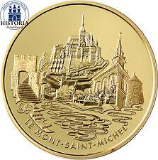 Frankreich 20 Euro Gold 2002 PP Goldmünze der Gebäude Serie: Mont Saint Michel