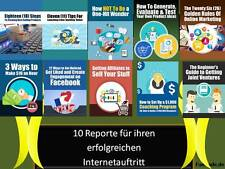 $$$10 Reporte Ebooks über Online Marketing Joint Venture deutsch mit PLR Lize$$$