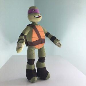 """Teenage Mutant Ninja Turtles Donatello 17"""" Plush Stuffed Toy Nickelodeon Viacom"""