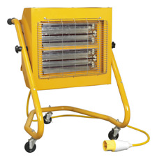IRS153110V Sealey Infrared Heater 1.5/3kW 110V [Heaters] [Heating & Cooling]