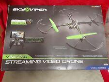 Sky Viper v2400 HD Streaming Video Drone 2.4 GHz Green Black  - BRAND NEW