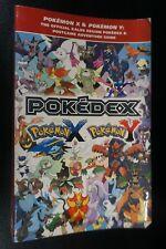 Pokemon X Y Pokedex Kalos Region Strategy Guide 3DS