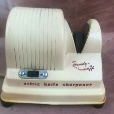 New listing Handy-Hannah Electric Knife Sharpener Model 995Ks tested