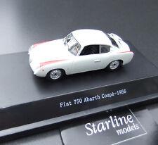 Fiat  750 Abarth -1956-  1:43 Starline  Models #335