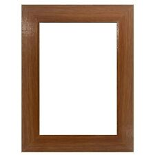 "Us Art Frames 1.25"" Flat Red Oak Mdf Wall Decor Picture Poster Frame"