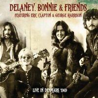 BONNIE & FRIENDS DELANEY - LIVE IN DENMARK 1969 (2CD-DIGIPAK)  2 CD NEUF