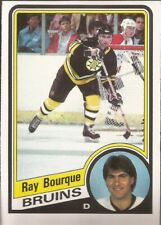 RAY BOURQUE 1984-85 O-pee-Chee Boston Bruins Legend HOF