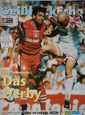 Programm 1997/98 1. FC Köln - Bayer Leverkusen