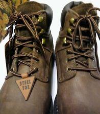 "McRae Men's Work boots Size 9.5 Industrial 6"" Steel Toe slip resist MR86344 NWT"