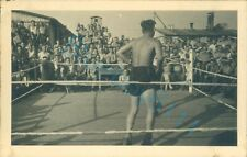 WW2 British Prisoner's Of War POW's Boxing match Fight  Stalag  XXI D Poland