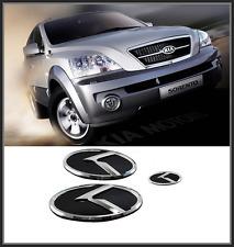 Front Hood /Trunk /Steering Horn K Logo Emblem 3p for KIA NEW SORENTO(2006~2008)