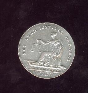 jeton argent Louis XV Procureurs de la cour