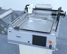 Benchtop SMD pick and place equipment with 42 smt feeder for pcb R&D -J