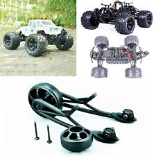 Black Rear Tail Pulley Wheelie Bar Kit for Rovan Buggy 83006 HPI Savage XL 1/8