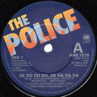 """The Police – De Do Do Do, De Da Da Da Vinyl 7"""" Single UK AMS 7578 1980"""