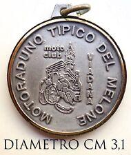 2993) Medaglia Moto Club Viadana 7° Motoraduno Nazionale 1987 Prova Interclub
