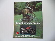 advertising Pubblicità 1975 MOTO CIMATTI KAIMAN TRIAL 50