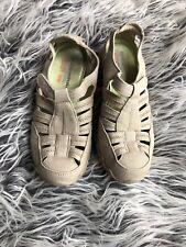 Skechers Womens Beige Comfort Shoes Size 6.5
