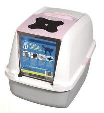 Cat pan à capuche litière pour chat bac à litière toilette training for cats odeurs moins
