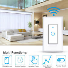 1 Gang Smart WIFI Light Wall Switch Works with Home Safety life for Smart Life