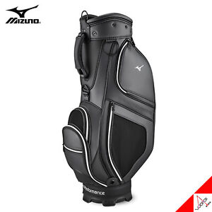 Mizuno 2021 URBAN 004 Men's Golf Caddie Cart Bag Light 9inch 5Way 7lbs PU-Black