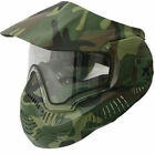 Valken Sly Annex MI-7 Woodland Camo with Thermal Anti-fog Clear Lens Goggle Mask