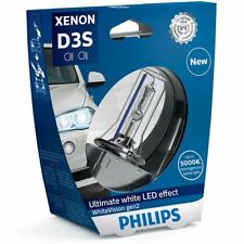 Philips White Vision D3S Headlight 120% more light Xenon Bulb 42403WHV2S1 Single