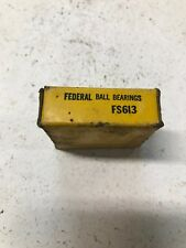 Federal Ball Bearing NOS Made in USA