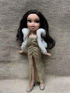Bratz Jade Doll Movie Starz w/Articulation, Eyelashes redressed