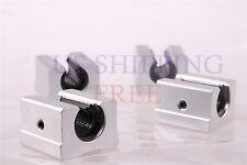 12mm  SBR12UU Aluminum Open Linear Motion Bearing Slide Unit NEW 4Pcs