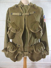 D-Day invasione US Army ww2 RANGER Assault Vest Normandia 1944/atterraggio Gilet XL
