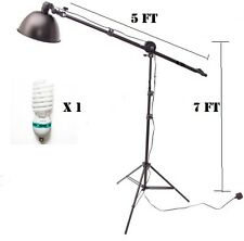 Photo Continuous Lighting & reflector Video Light boom Stand hair light kit
