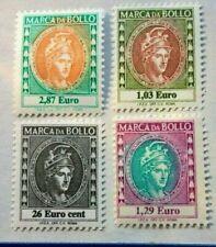 2002 SPLENDIDE MARCHE da BOLLO  in EURO  Nuove MNH Perfette da Collezione Rare R