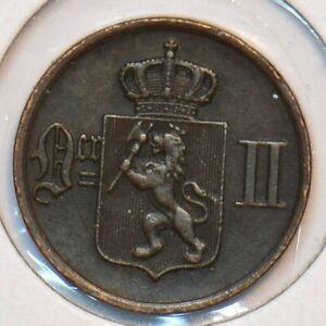 Norway 1876 Ore 490743 combine