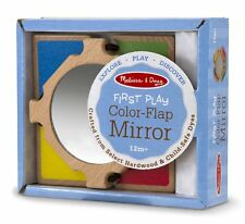 Melissa & Doug Color-Flap Mirror Clacking Toddler Toy 4040