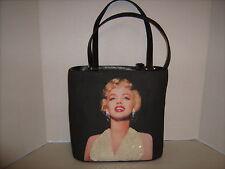 Marilyn Monroe Sequins Bag ,Pearl Earrings Trimmed In Rhinestone