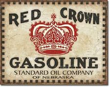 Reproduction Red Gas & Oil Advertising Signs for sale | eBay