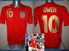 Angleterre Michael Owen chemise jersey football soccer adulte 3XL vintage uniforme top