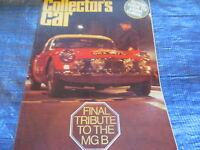 1981 JUNE COLLECTORS CAR MAGAZINE / MG TRIBUTE AUSTIN 16 MIKE HAWTHORN   #bk1