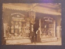 ORIG 1905 Jewish Herman Zeller 35 E 6 St Cincinnati Ohio Mounted Photo Hats