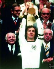 Franz Beckenbauer 1974 World Cup Germany 10x8 Photo