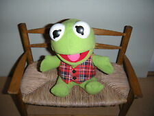 "Baby Kernit The Frog 7"" Plush Stuffed 1987 Jim Henson Muppet By Associates Inc"