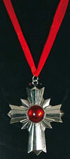 Vampirorden Vampirkette Kette Kreuz Halloween Karneval Gothic rot 124642213