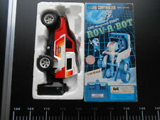 Rov a Bot 1/24 GIG NIKKO Car Robot Transformer Radio Controlled G1 Maastab 1984